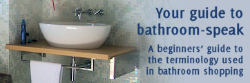 Bathroom terminology guide