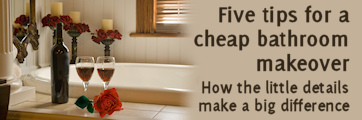 Five tips for a cheap makeover